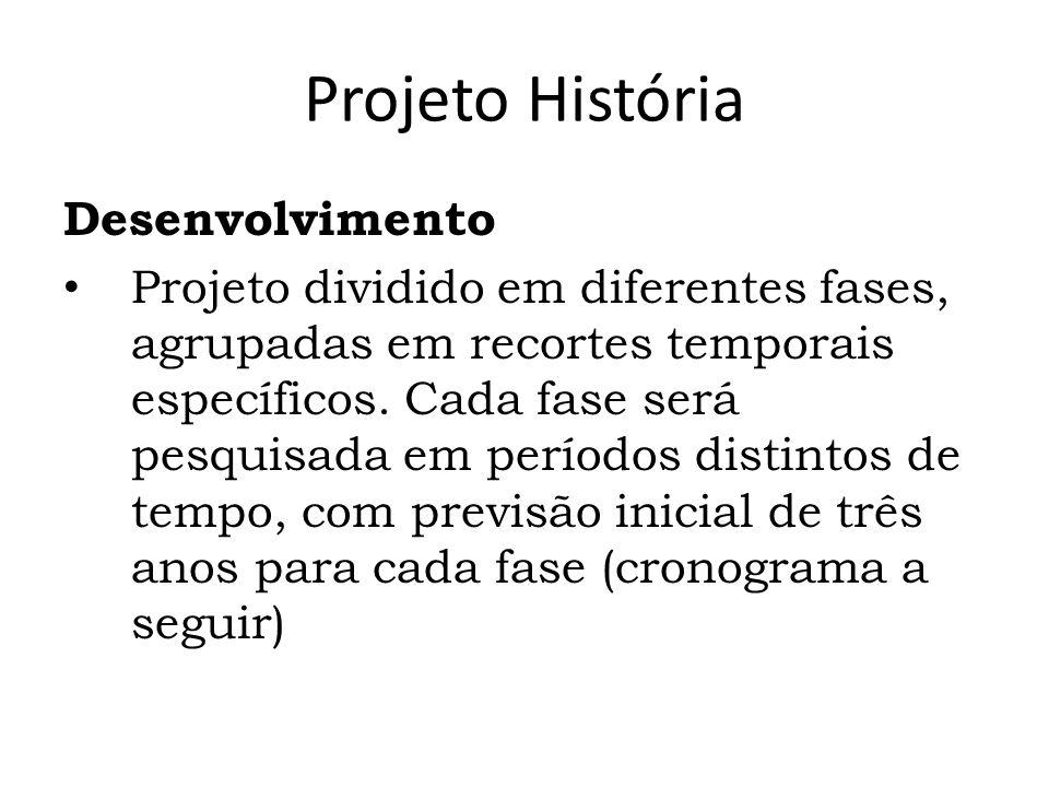 Projeto História Desenvolvimento