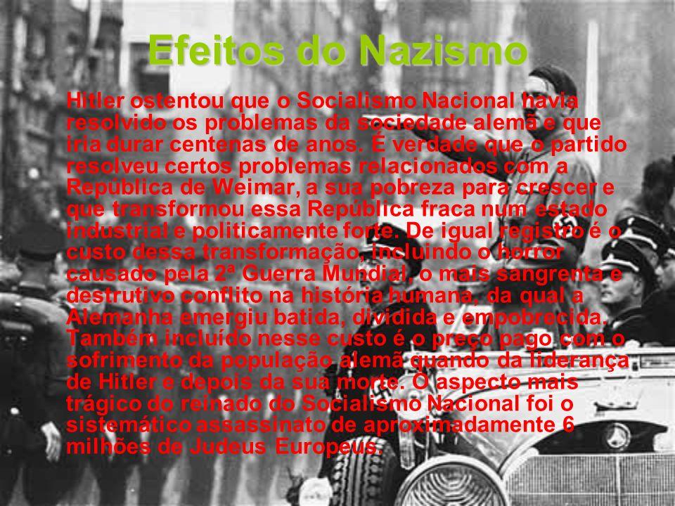 Efeitos do Nazismo