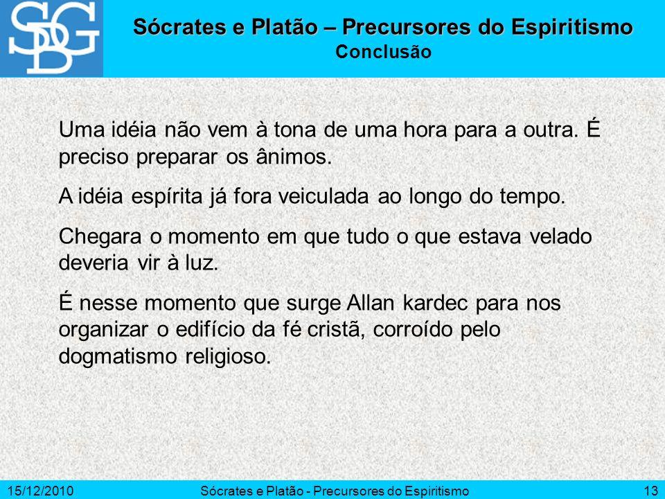 Sócrates e Platão – Precursores do Espiritismo