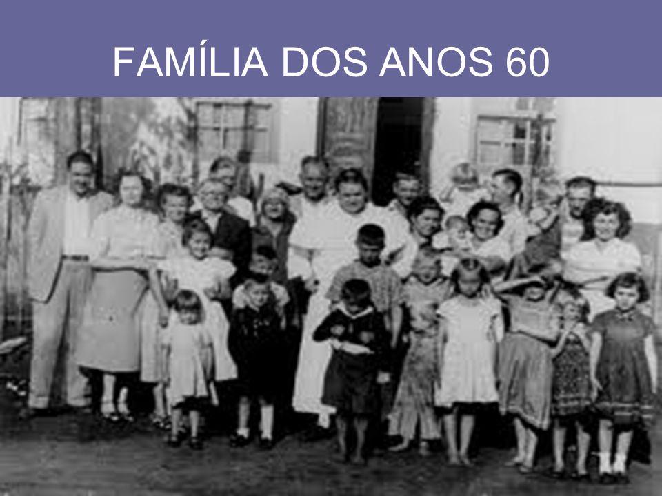 FAMÍLIA DOS ANOS 60