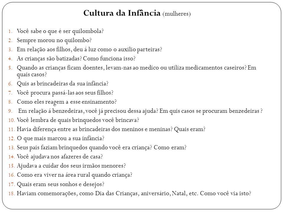 Cultura da Infância (mulheres)