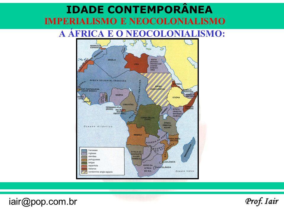 A ÁFRICA E O NEOCOLONIALISMO: