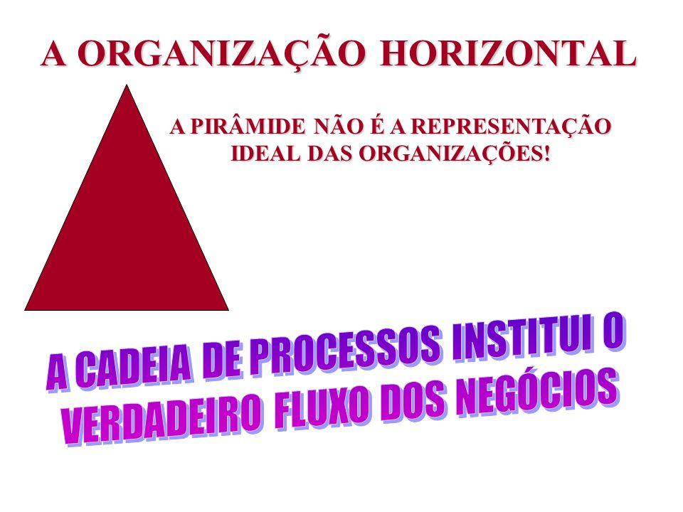 A ORGANIZAÇÃO HORIZONTAL