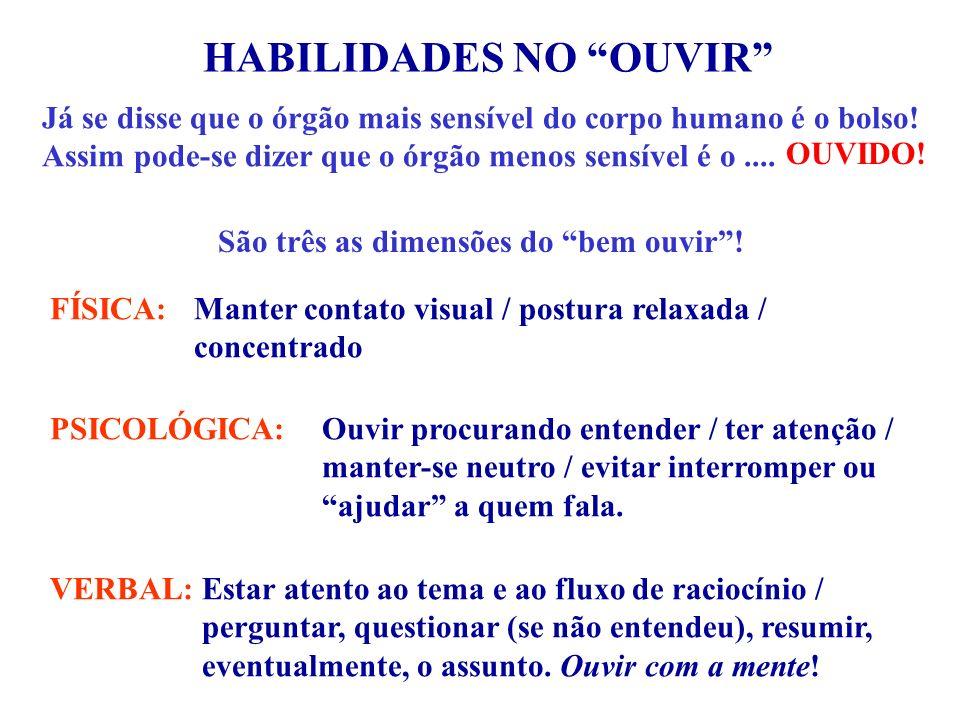 HABILIDADES NO OUVIR