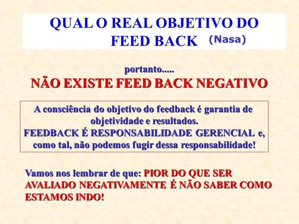 QUAL O REAL OBJETIVO DO FEED BACK