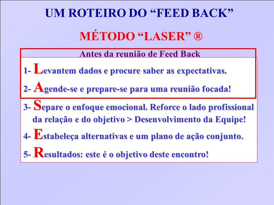 UM ROTEIRO DO FEED BACK