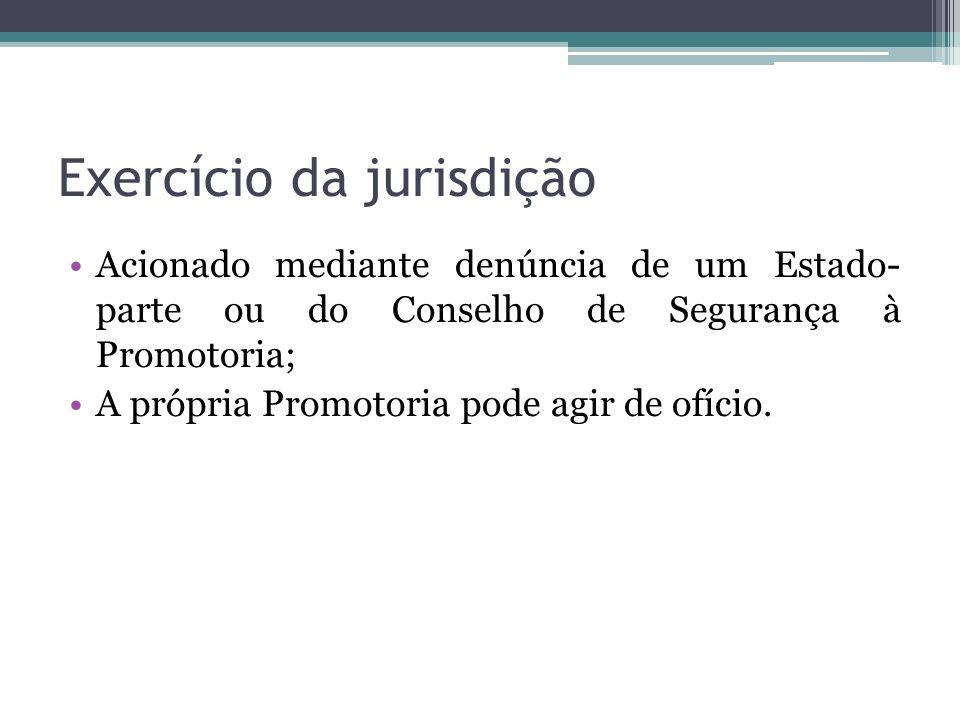 Exercício da jurisdição