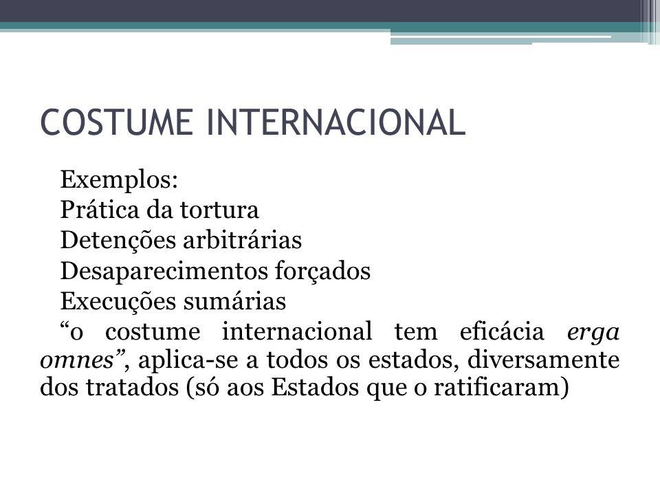 COSTUME INTERNACIONAL