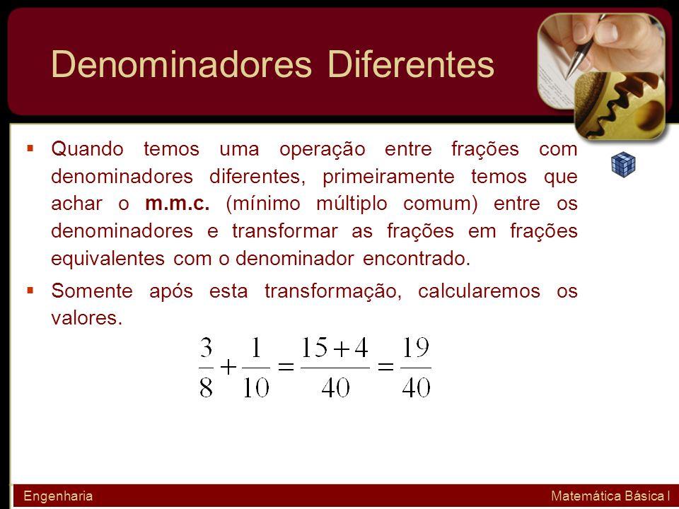 Denominadores Diferentes