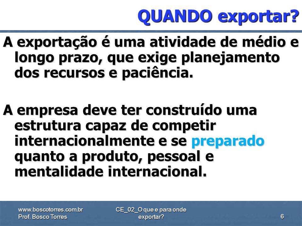 CE_02_O que e para onde exportar