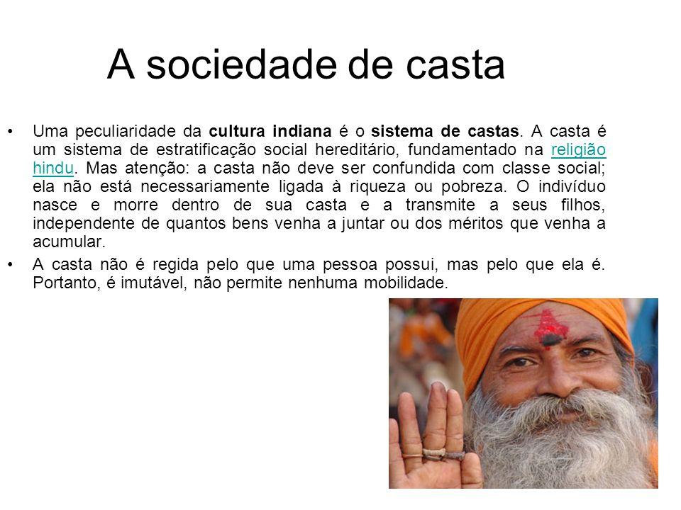 A sociedade de casta