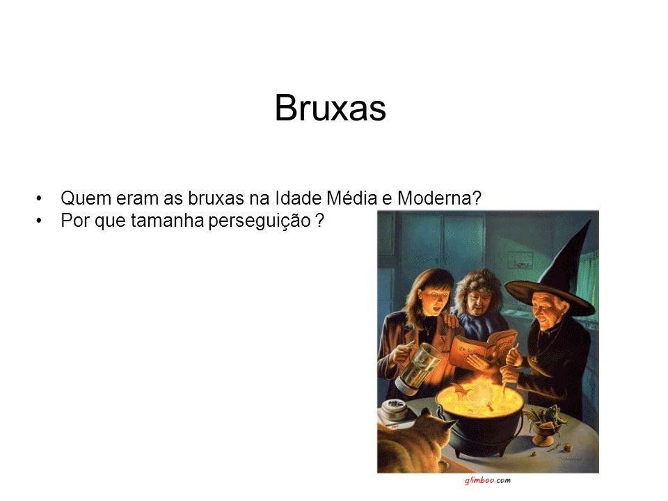 Bruxas Quem eram as bruxas na Idade Média e Moderna