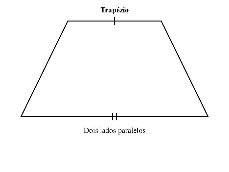 Trapézio Dois lados paralelos