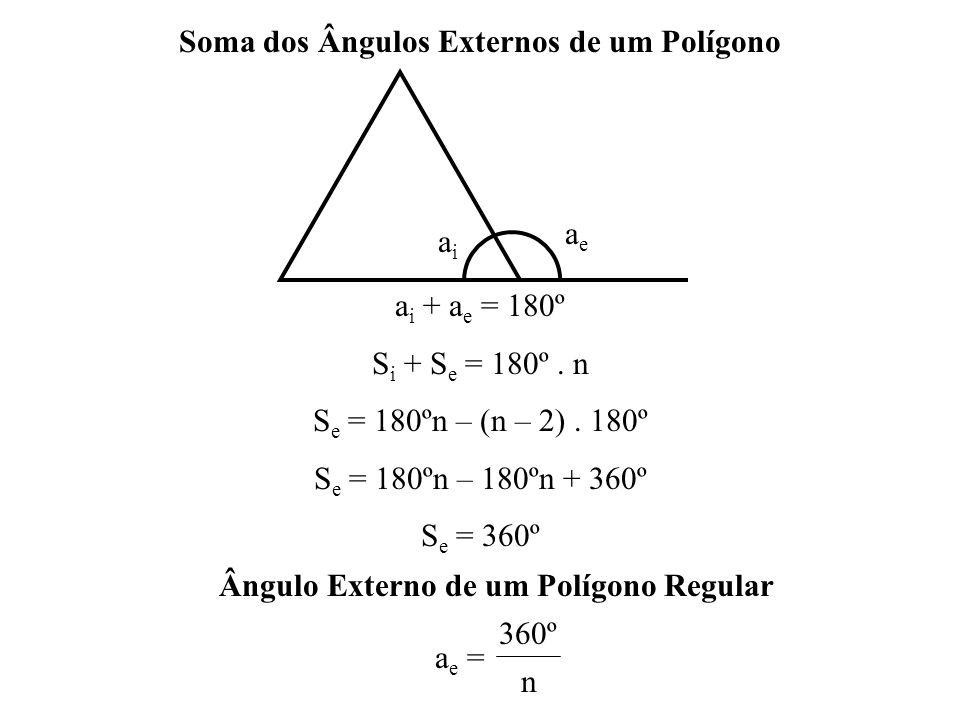 Soma dos Ângulos Externos de um Polígono