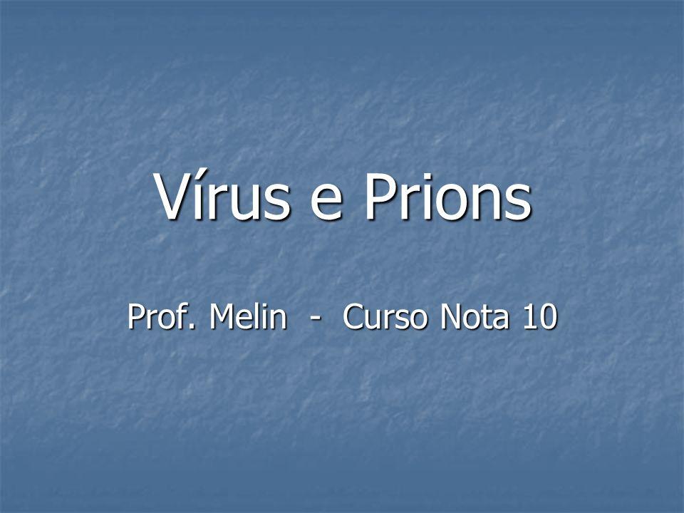 Vírus e Prions Prof. Melin - Curso Nota 10