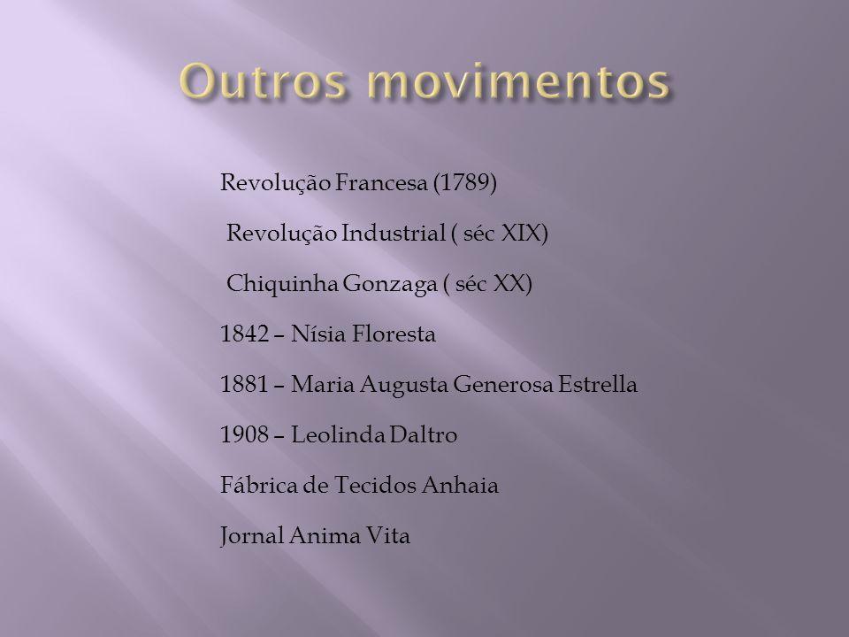 Outros movimentos Revolução Francesa (1789)