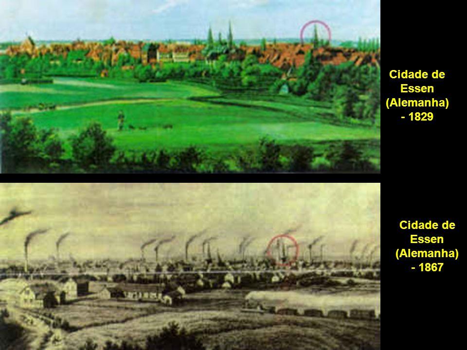 Cidade de Essen (Alemanha) - 1829 Cidade de Essen (Alemanha) - 1867
