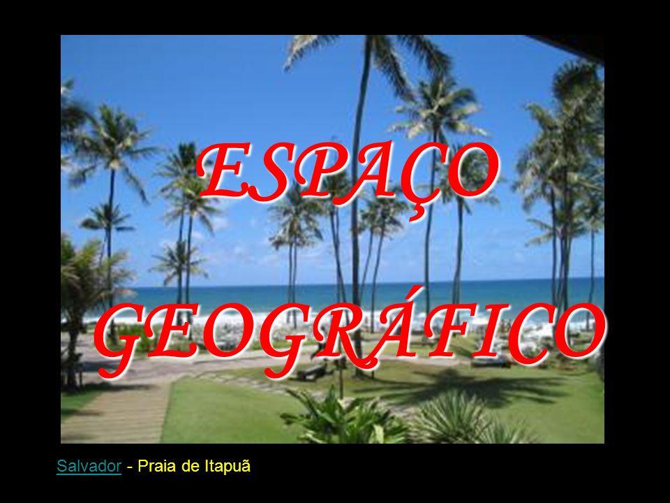 ESPAÇO GEOGRÁFICO Salvador - Praia de Itapuã
