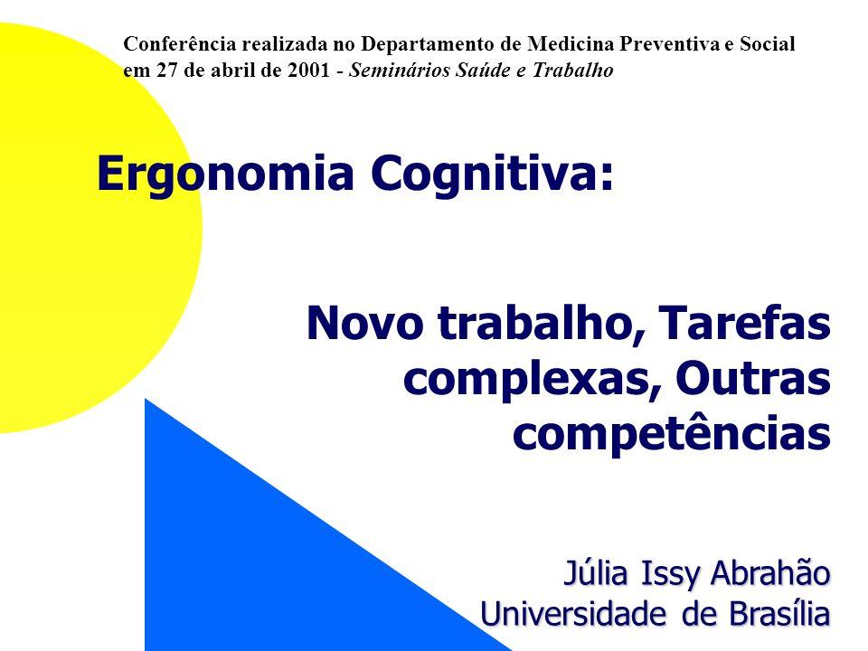 Conferência realizada no Departamento de Medicina Preventiva e Social