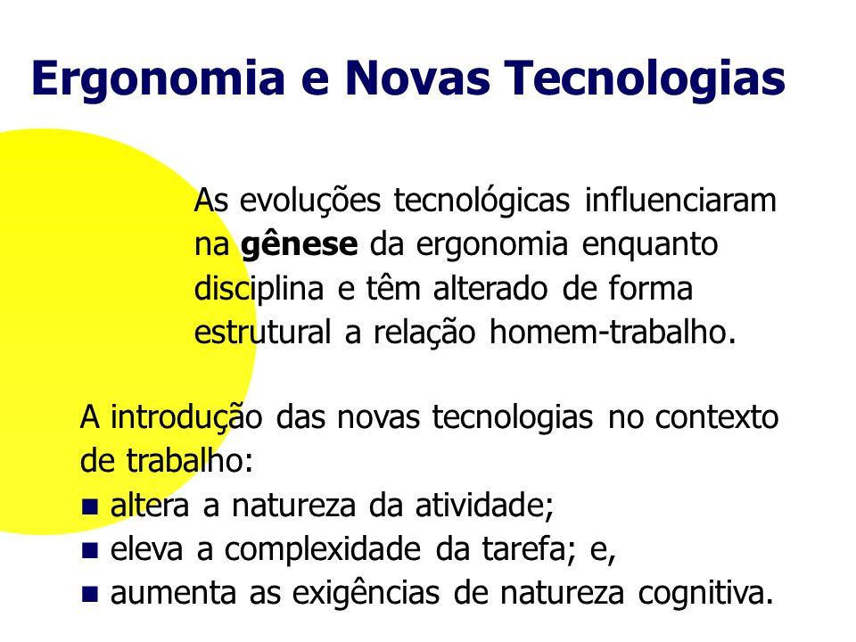 Ergonomia e Novas Tecnologias