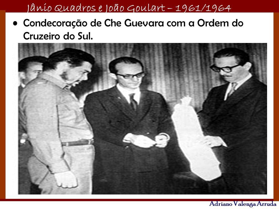 Condecoração de Che Guevara com a Ordem do Cruzeiro do Sul.