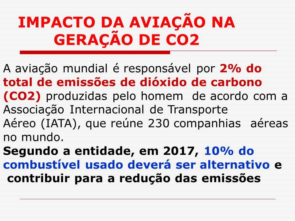 IMPACTO DA AVIAÇÃO NA GERAÇÃO DE CO2