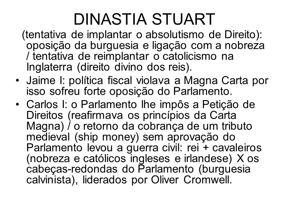 DINASTIA STUART