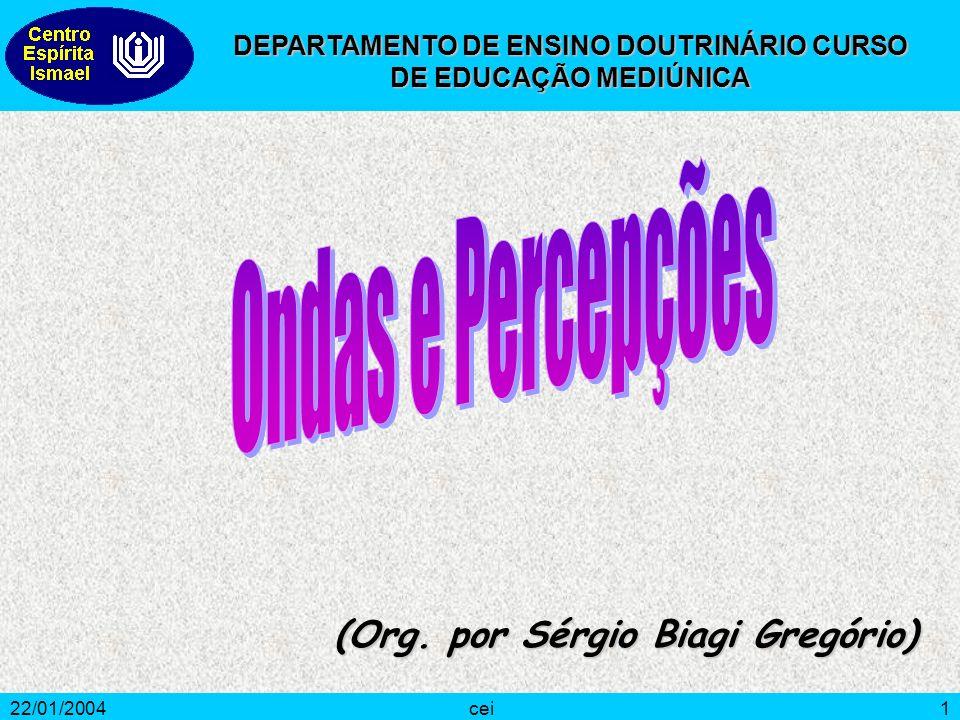 DEPARTAMENTO DE ENSINO DOUTRINÁRIO CURSO DE EDUCAÇÃO MEDIÚNICA