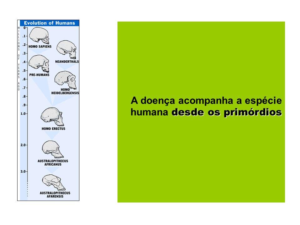 A doença acompanha a espécie humana desde os primórdios