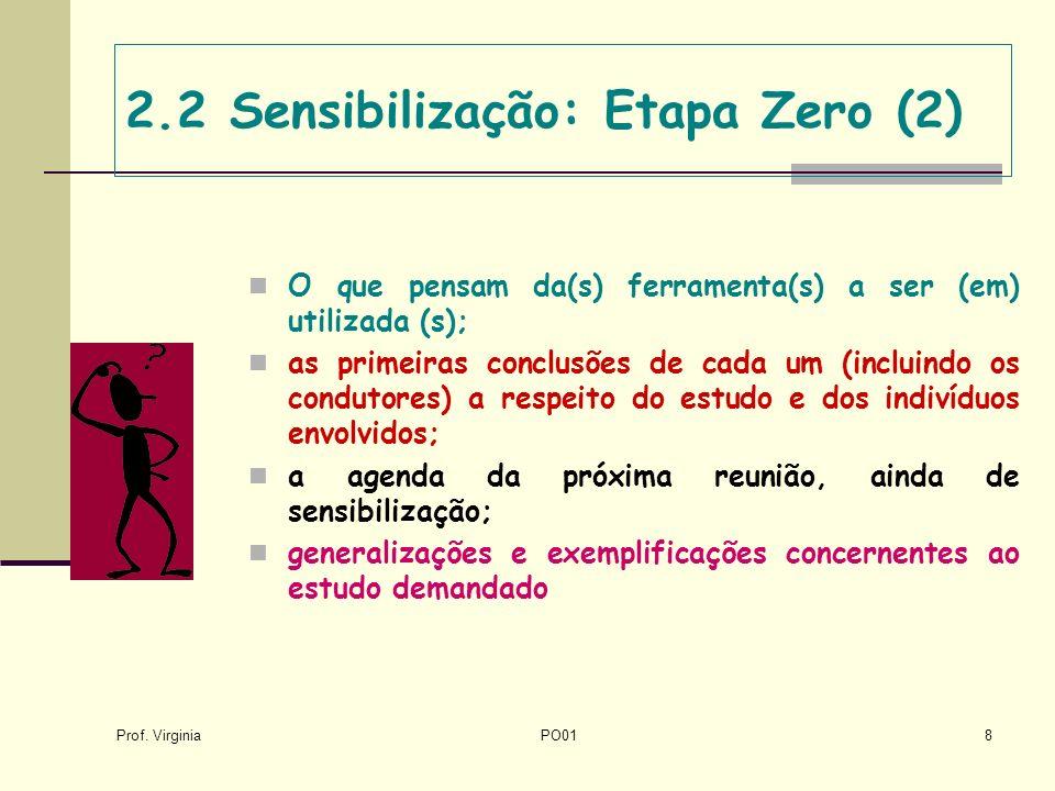 2.2 Sensibilização: Etapa Zero (2)