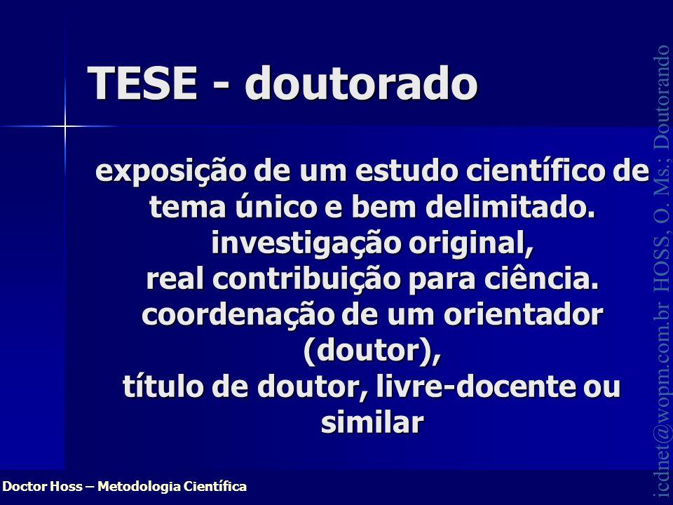 TESE - doutorado
