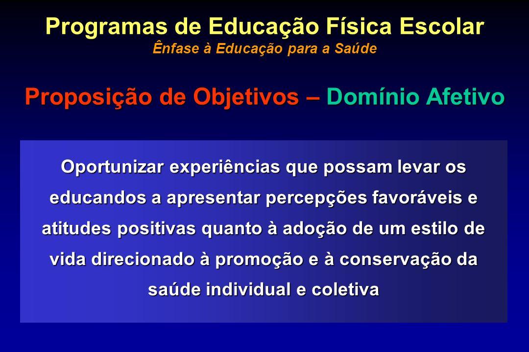 Programas de Educação Física Escolar