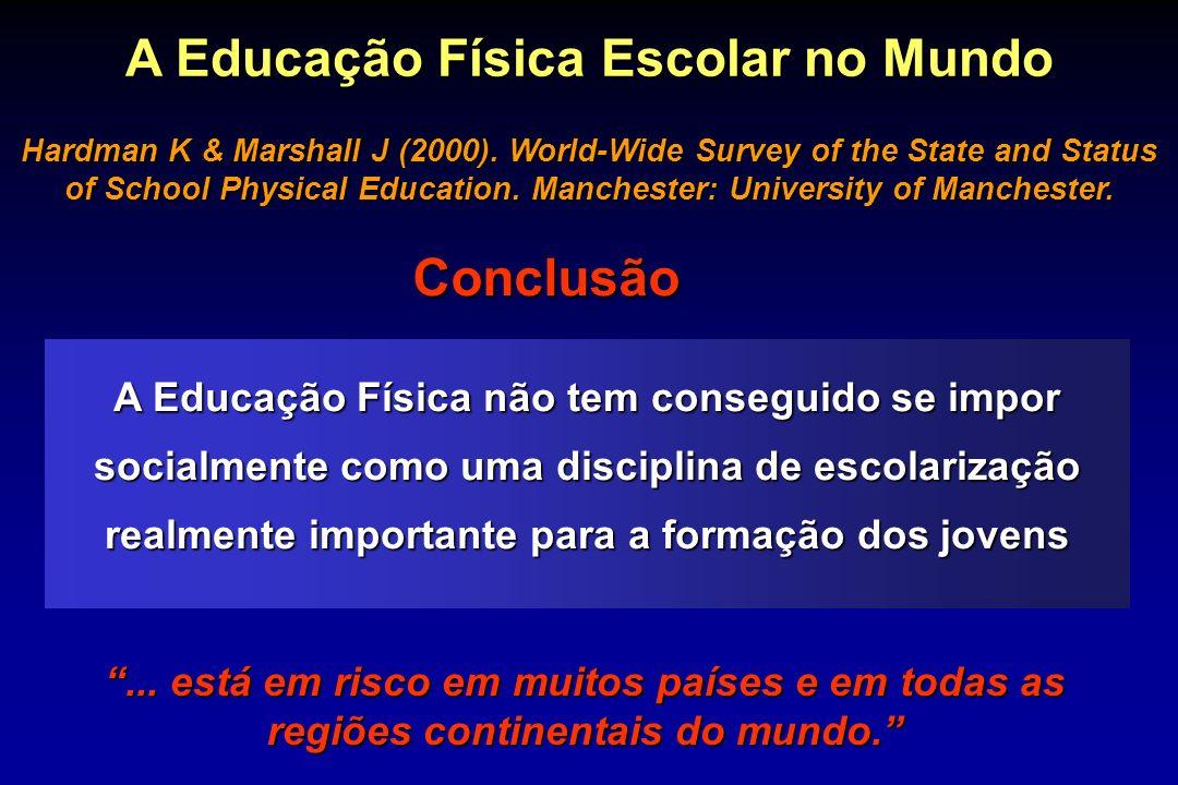 A Educação Física Escolar no Mundo