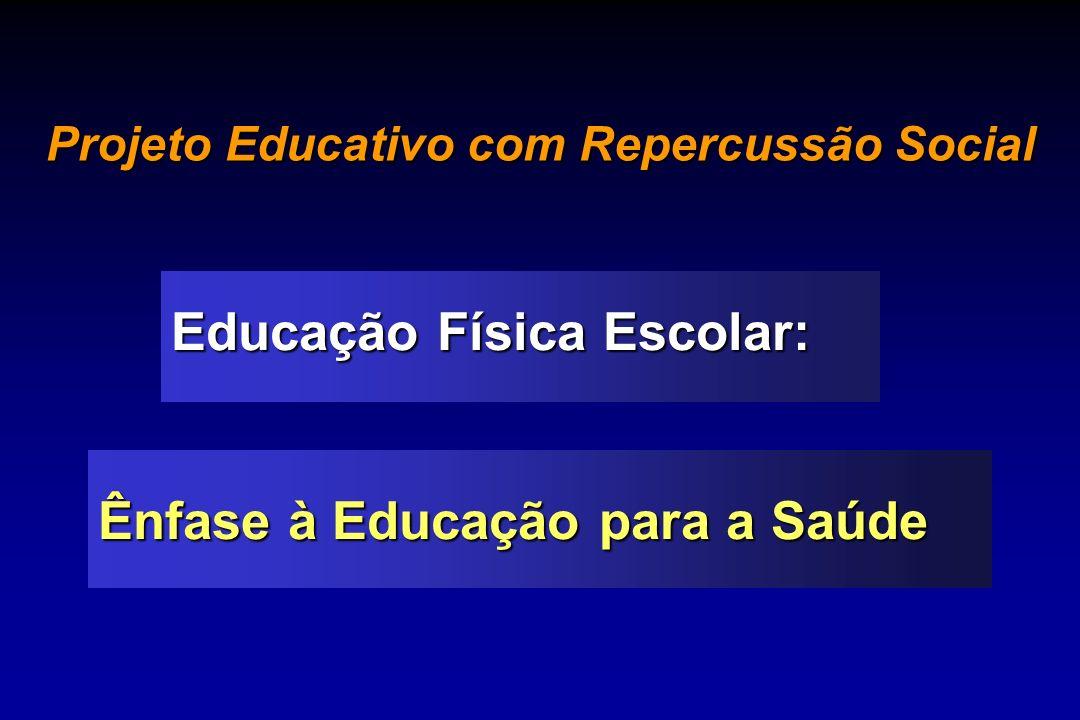 Projeto Educativo com Repercussão Social