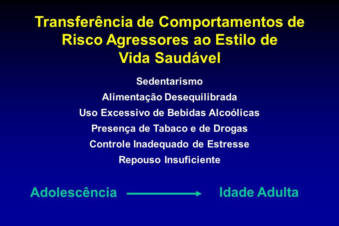 Transferência de Comportamentos de Risco Agressores ao Estilo de