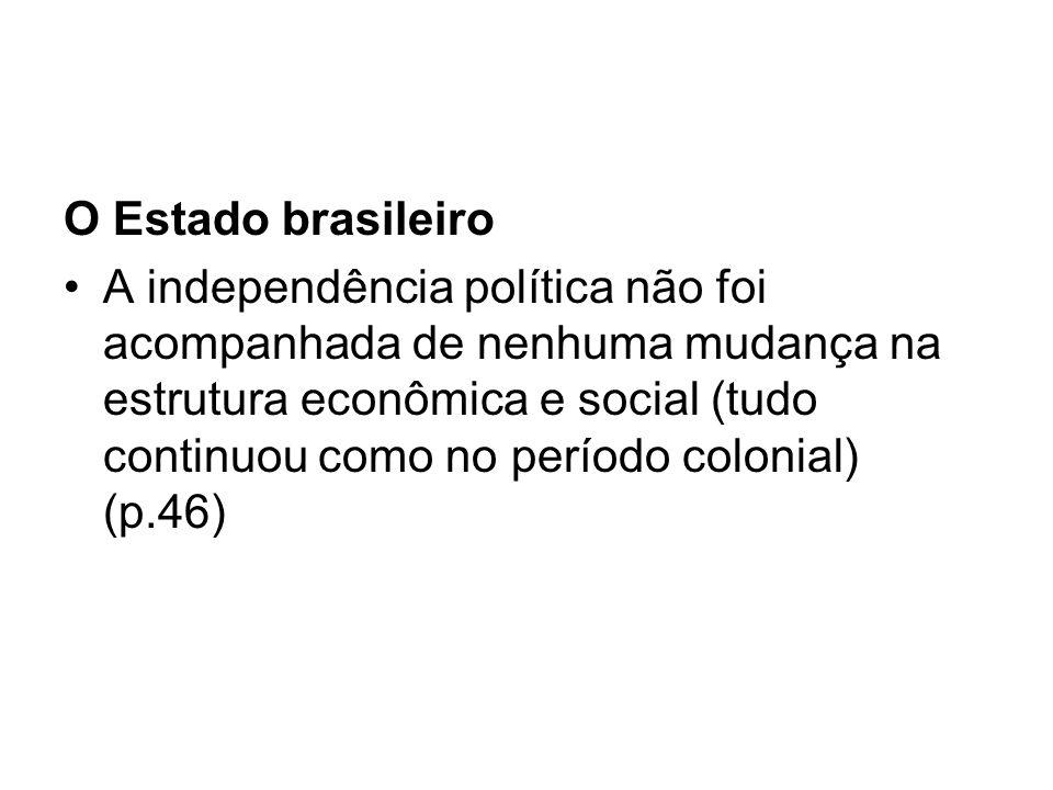 O Estado brasileiro