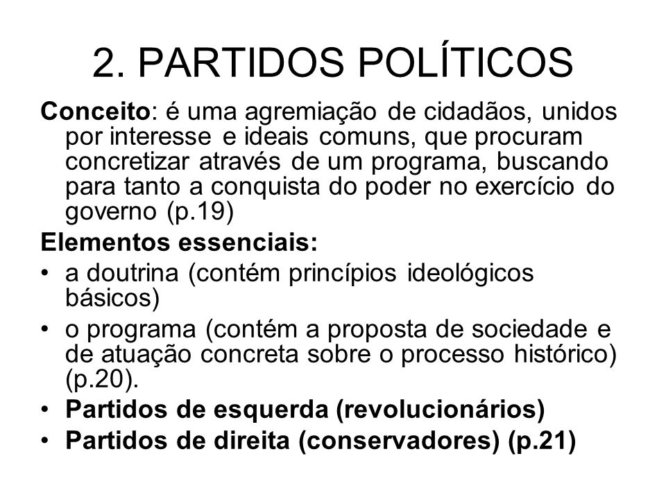 2. PARTIDOS POLÍTICOS