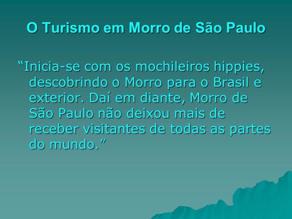 O Turismo em Morro de São Paulo
