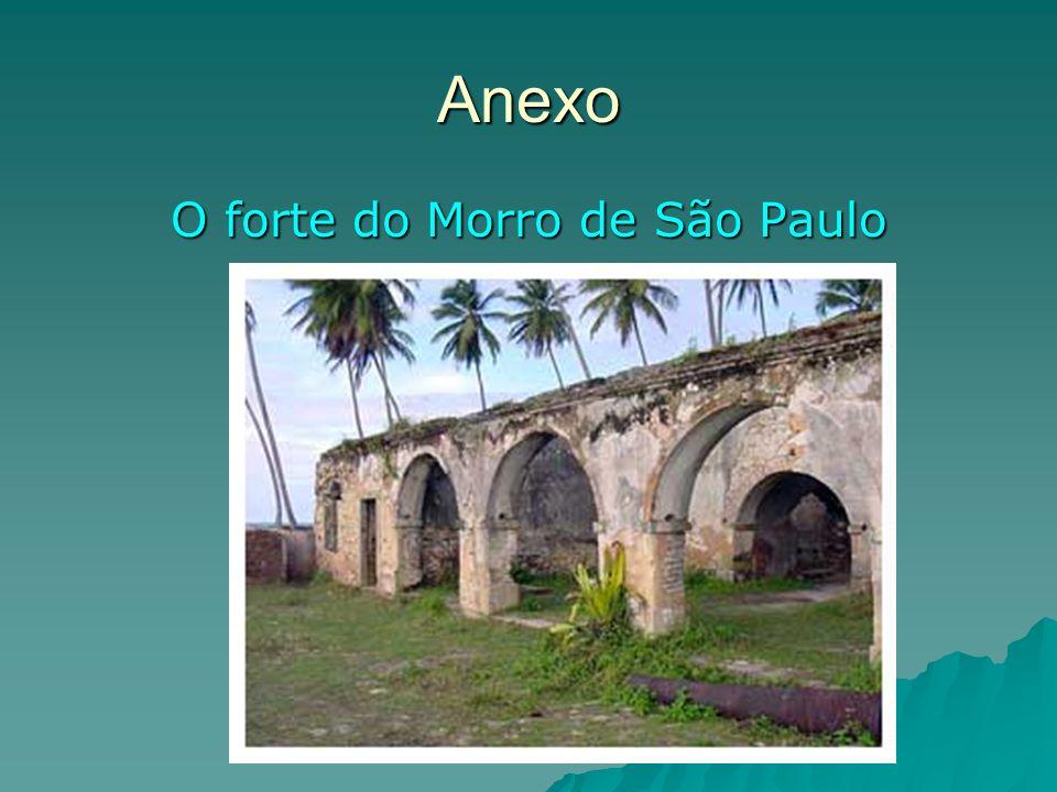 O forte do Morro de São Paulo