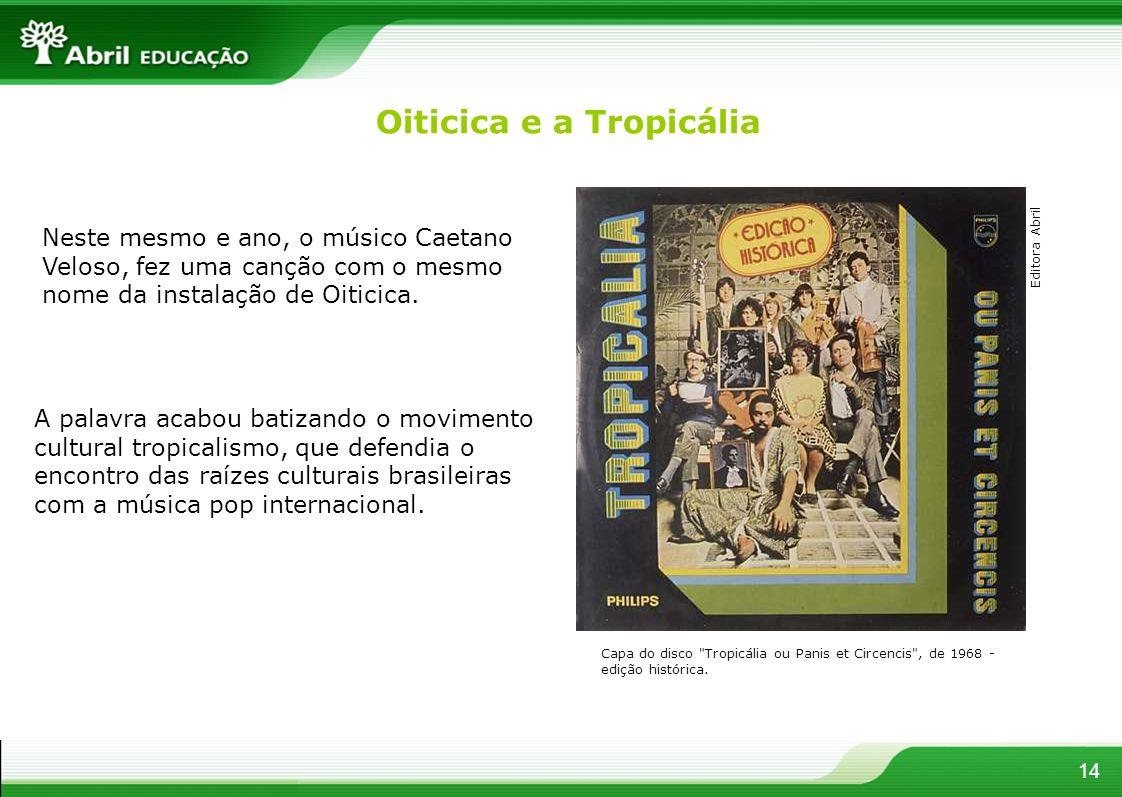 Oiticica e a Tropicália