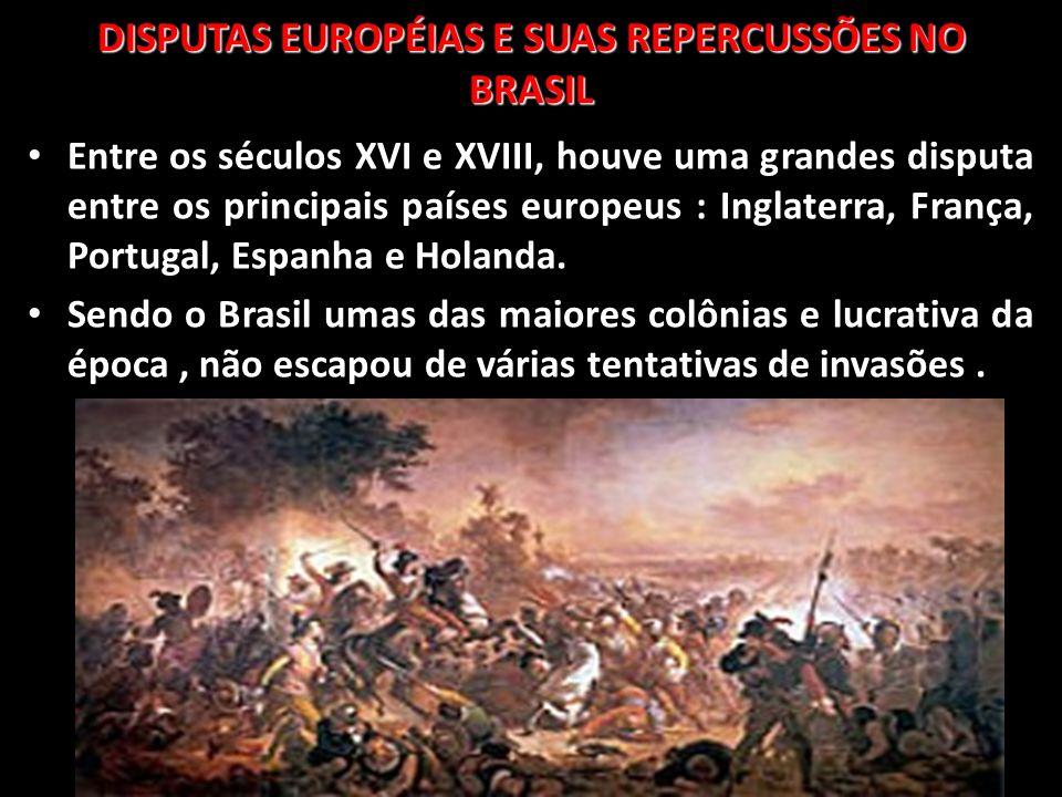 DISPUTAS EUROPÉIAS E SUAS REPERCUSSÕES NO BRASIL