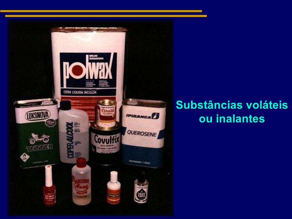 Substâncias voláteis ou inalantes
