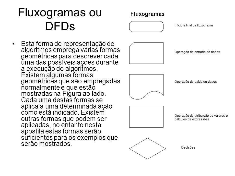 Fluxogramas ou DFDs