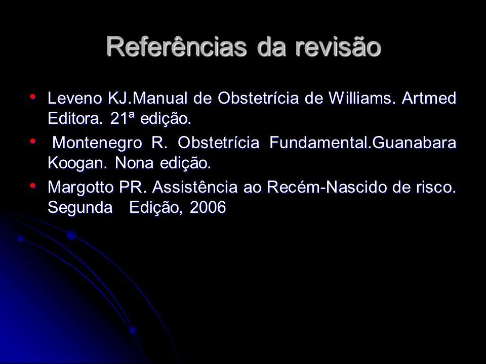 Referências da revisão