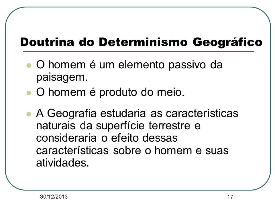 Doutrina do Determinismo Geográfico