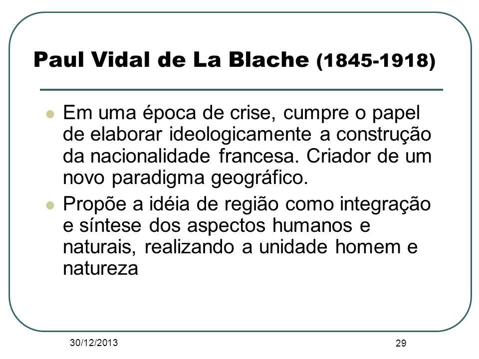 Paul Vidal de La Blache (1845-1918)