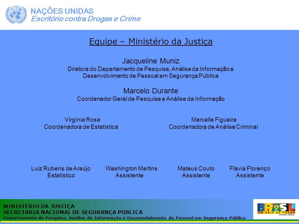 Equipe – Ministério da Justiça