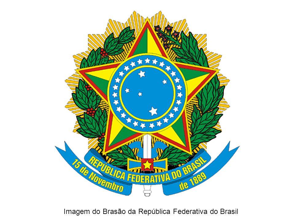 Imagem do Brasão da República Federativa do Brasil