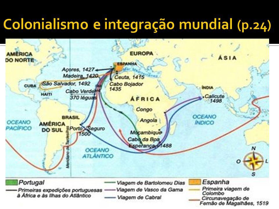 Colonialismo e integração mundial (p.24)