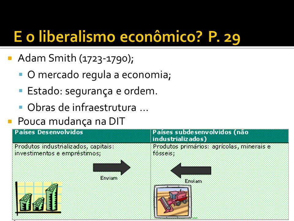 E o liberalismo econômico P. 29
